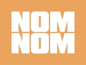nom nom logo